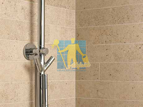 limestone tiles shower moleanos beige