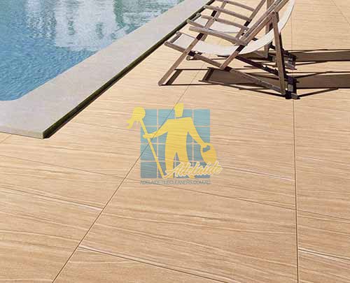 Sandstone Tile Sealing Outdoor Pool