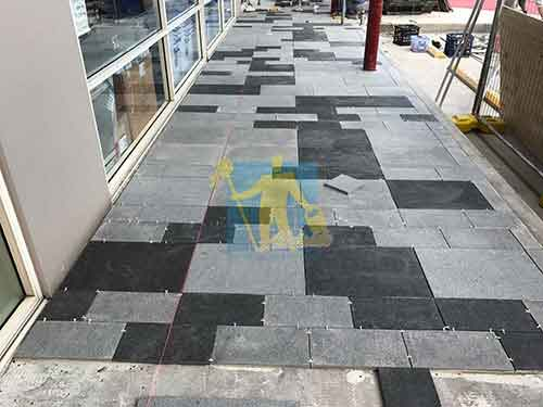 Bluestone flooring and grouting Gawler