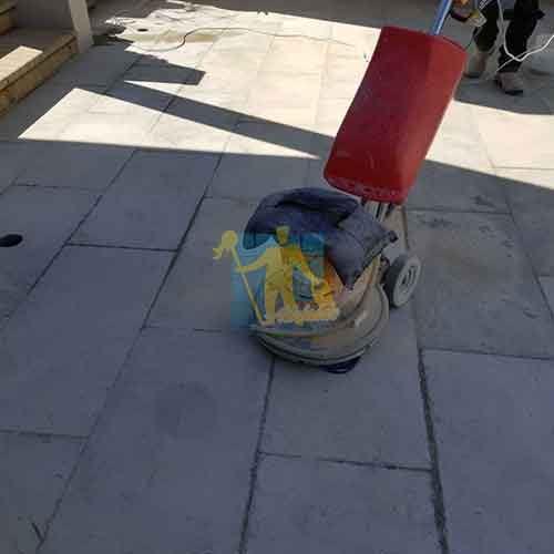 cleaning outdoor tile floor