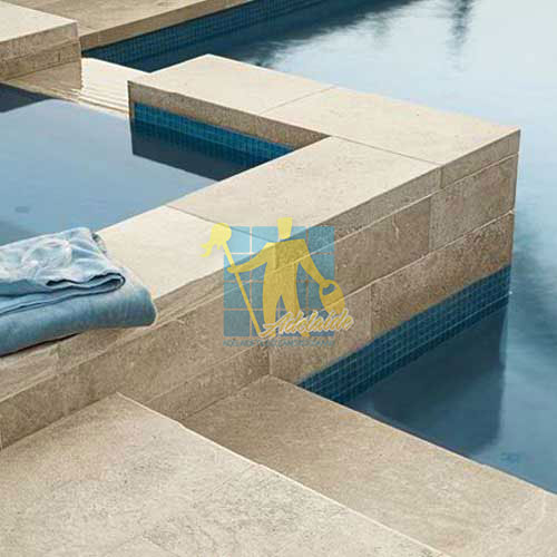 outdoor grinded and polished Limestone tiles