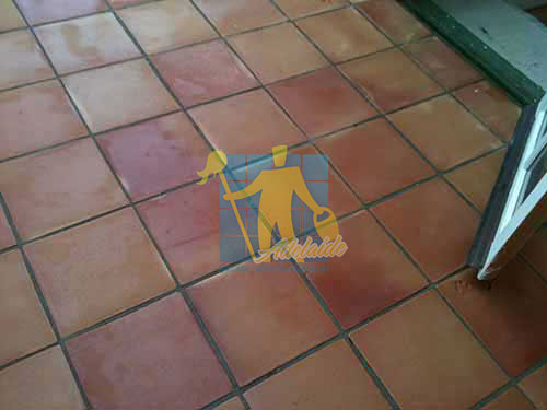 Tarracotta Tiles After Cleaning
