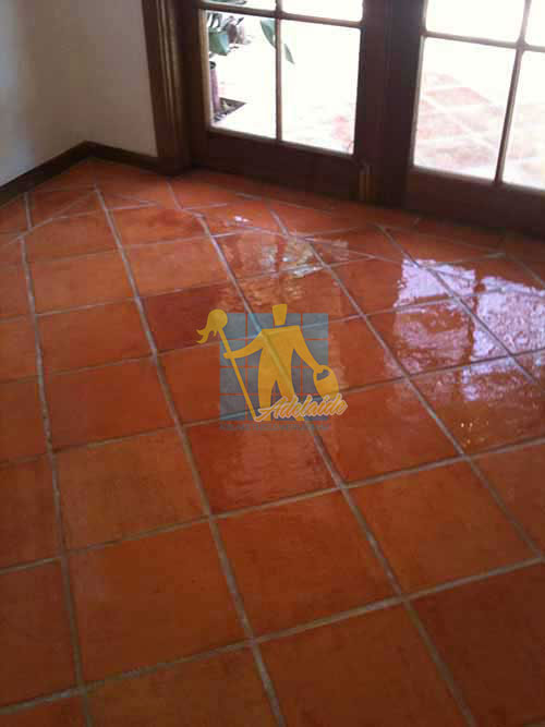 terracotta tiles after sealing Adelaide