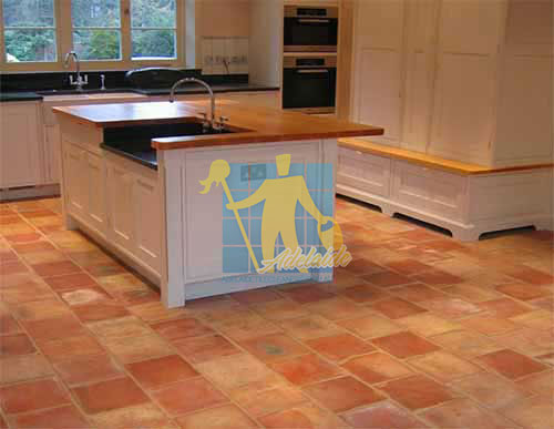 terracotta tiles rustic english hand made kitchen