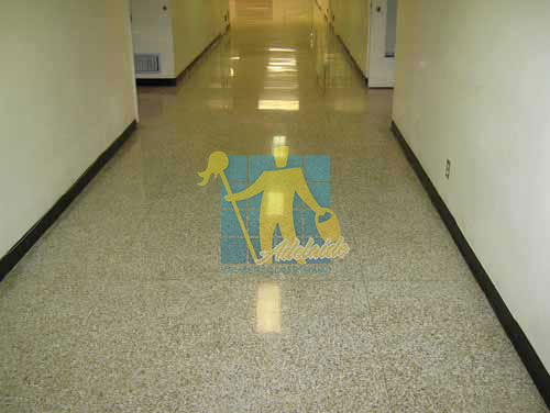 terrazzo floor tiles traditional hall very large tiles