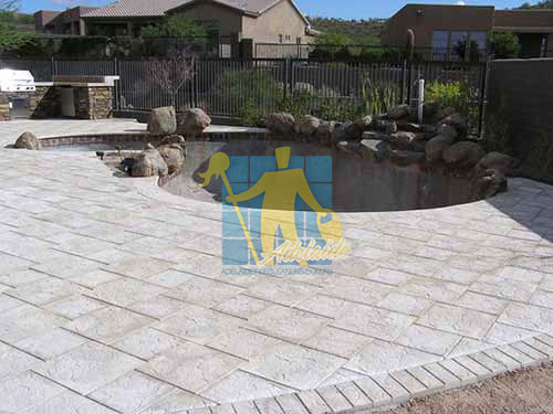 outdoor travertine pavers pool sealer